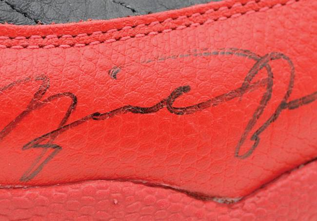 Michael Jordan shoes auctioned for $104K