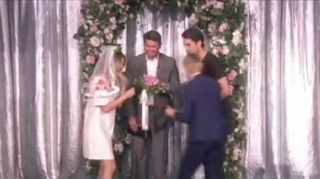 Kaley Cuoco Ties the Knot in Mock Wedding