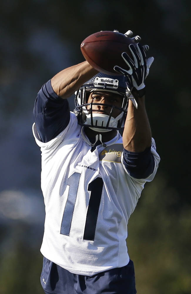 Harvin probable to make debut against Vikings