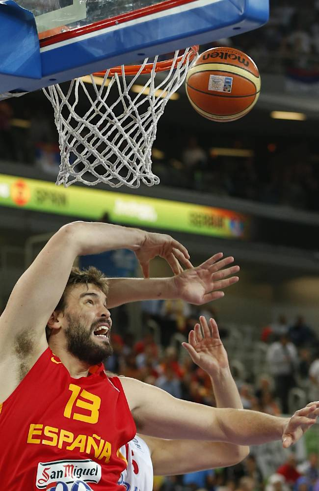 Spain routs Serbia, France beats Slovenia at Euros