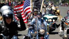 Raw: Rolling Thunder Roars Into Washington