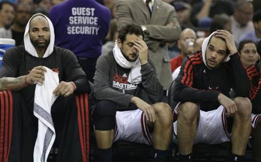 About sums up the Bulls' night