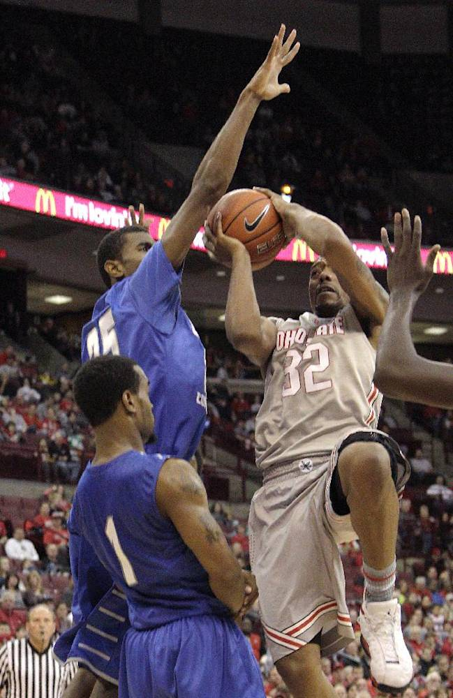 Ross has 23, No. 5 Buckeyes beat CCSU, 74-56