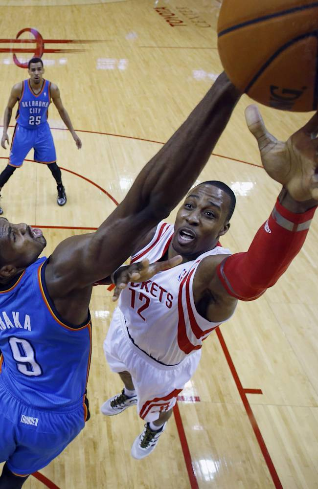 Thunder rally for 104-92 win over Rockets