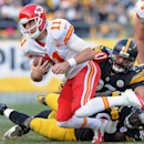 Chiefs QB Alex Smith out with lacerated spleen The Associated Press