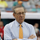 Miami Dolphins owner Stephen Ross watches during the closing minutes of an NFL football game against the New York Jets, Sunday, Dec. 29, 2013, in Miami Gardens, Fla. The Jets defeated the Dolphins 20-7 The Associated Press