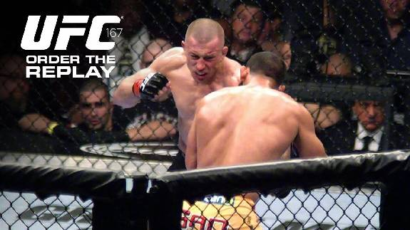 UFC 167: Watch the Replay