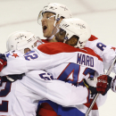 Ward scores winner for Capitals, 5-4 in OT The Associated Press