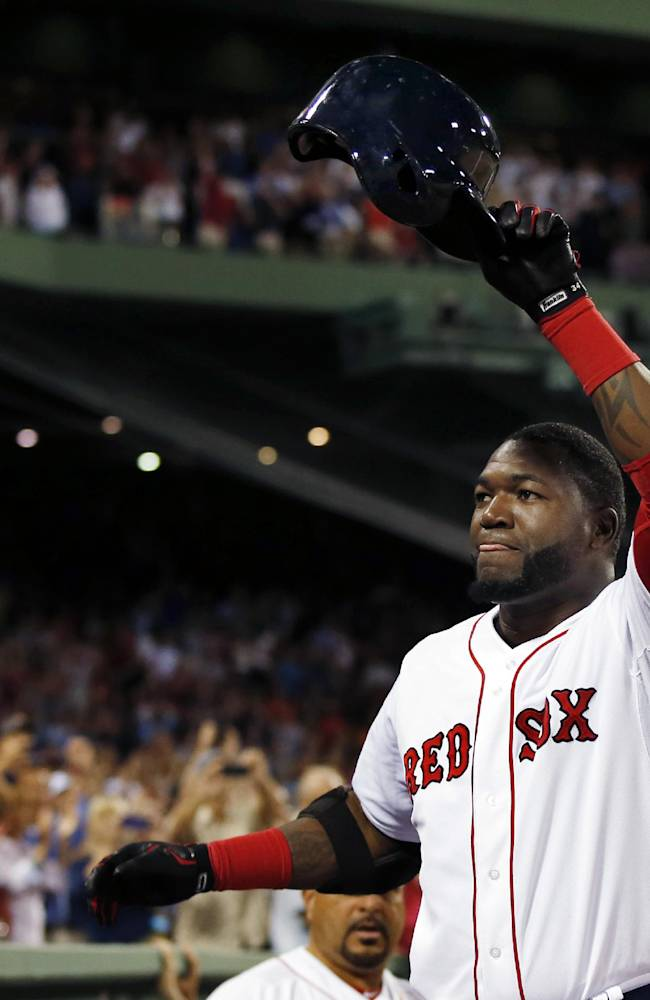 Ortiz leads Red Sox to 20-4 romp over Tigers