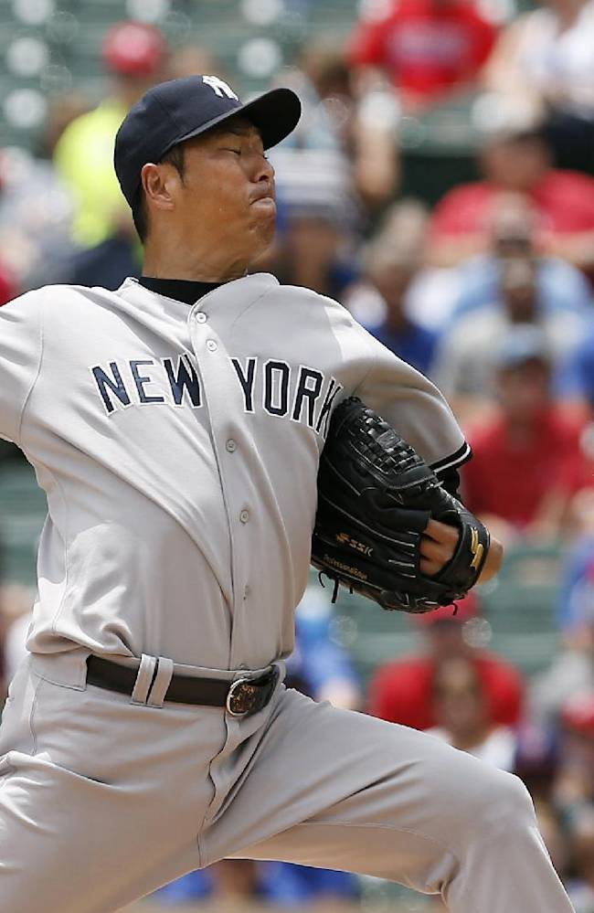 Kuroda, Rivera pitch Yankees to 2-0 win at Texas