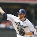 San Diego Padres starting pitcher Ian Kennedy works against the Colorado Rockies during the first inning of a baseball game Thursday, April 17, 2014, in San Diego The Associated Press