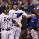 Loney keys Rays' 5-4 win over Rangers The Associated Press