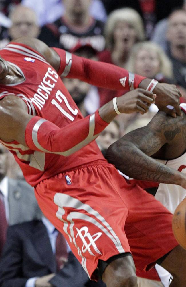 Daniels' 3 sends Rockets over Blazers 121-116