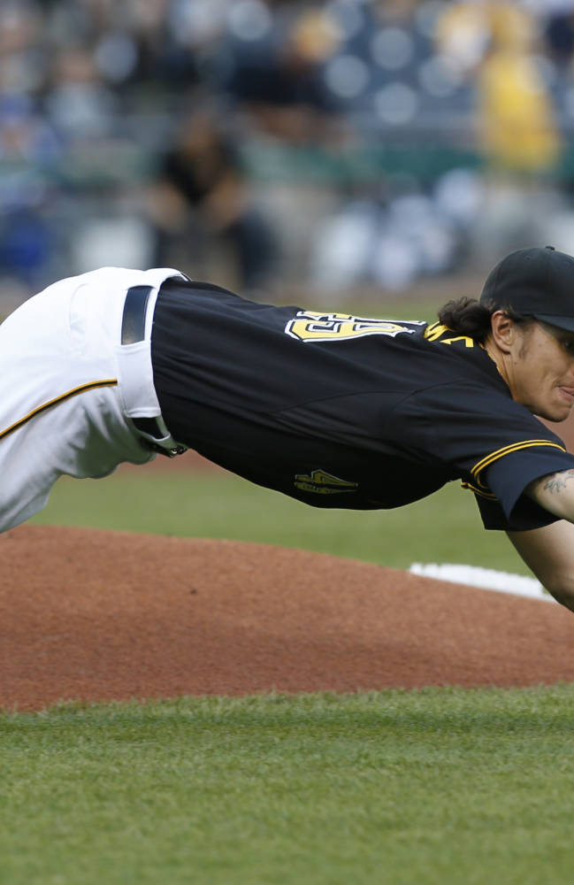 Pirates, Locke shut down reeling Dodgers 3-0