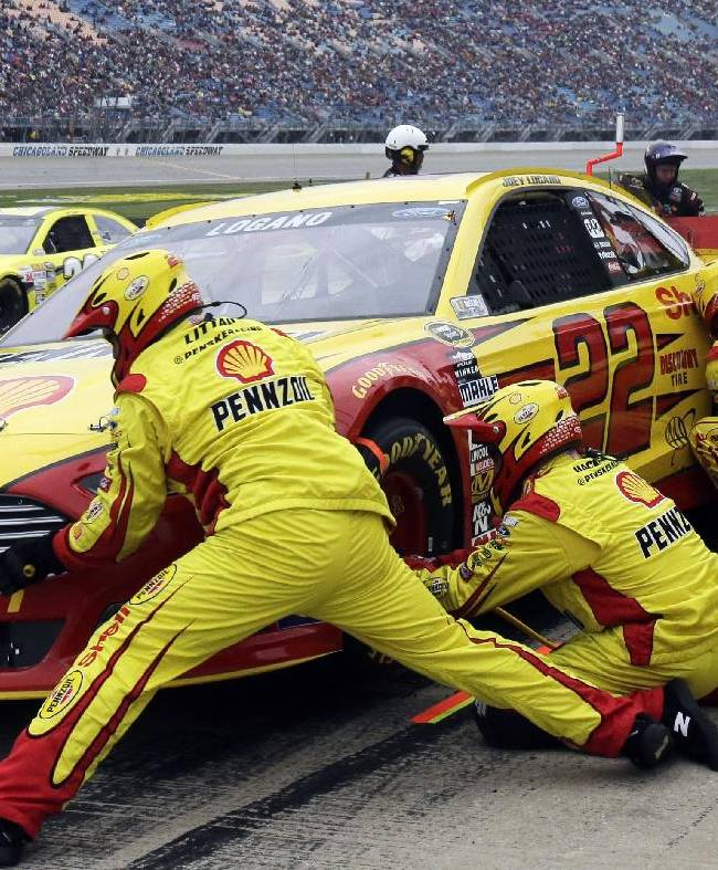 Pole-sitter Logano starts Chase with early exit