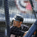 New York Yankees' Ichiro Suzuki takes batting practice before an exhibition baseball game against the Tampa Bay Rays, Wednesday, March 5, 2014, in Port Charlotte, Fla The Associated Press