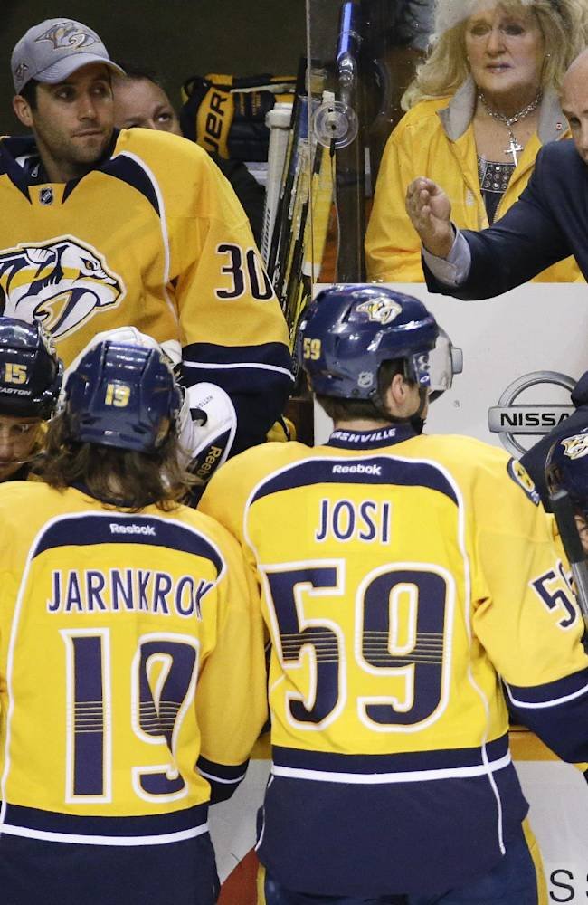 GM says coach change 'wake-up call' for Predators