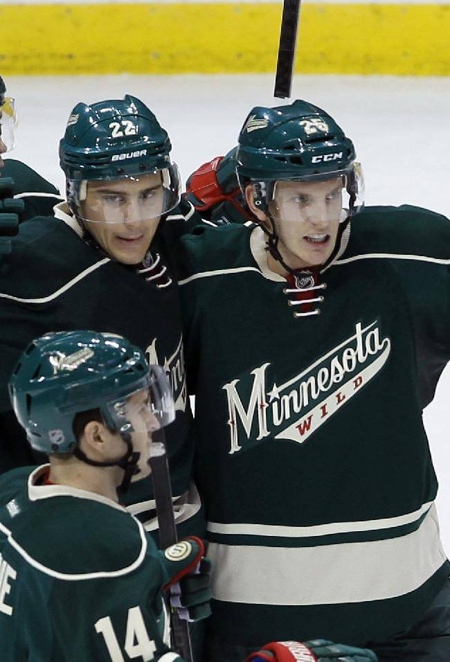 Scandella gives Wild 4-3 win over Blackhawks