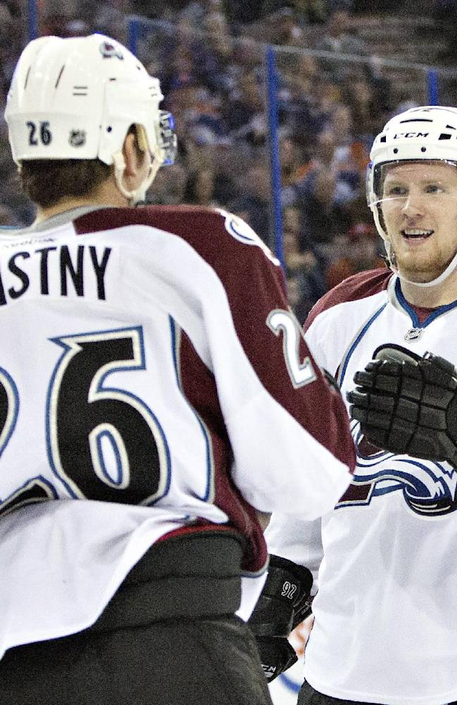Avalanche upend Oilers 4-1