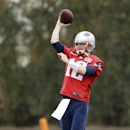New England Patriots quarterback Tom Brady passes during practice Friday, Jan. 30, 2015, in Tempe, Ariz. The Patriots play the Seattle Seahawks in NFL football Super Bowl XLIX Sunday, Feb. 1 The Associated Press