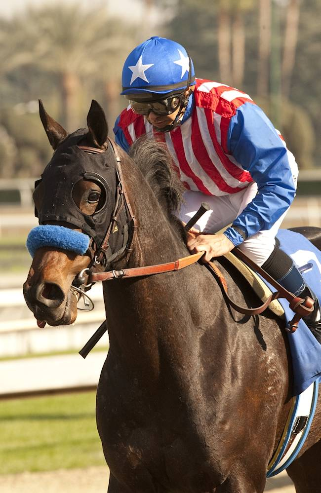 Awesome Baby wins Santa Ynez at Santa Anita