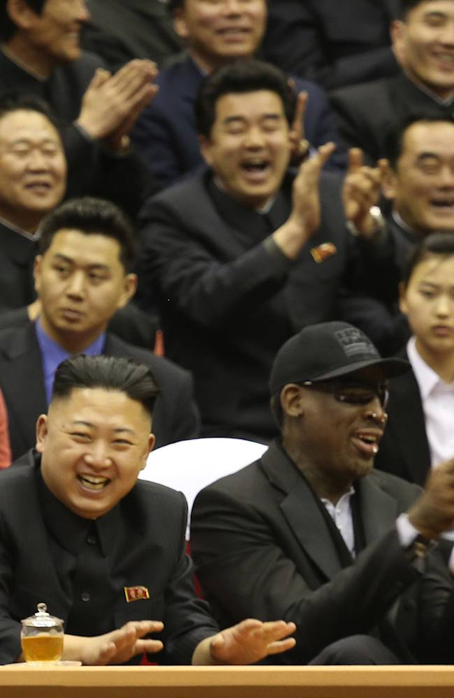 Rodman returning to North Korea, with others