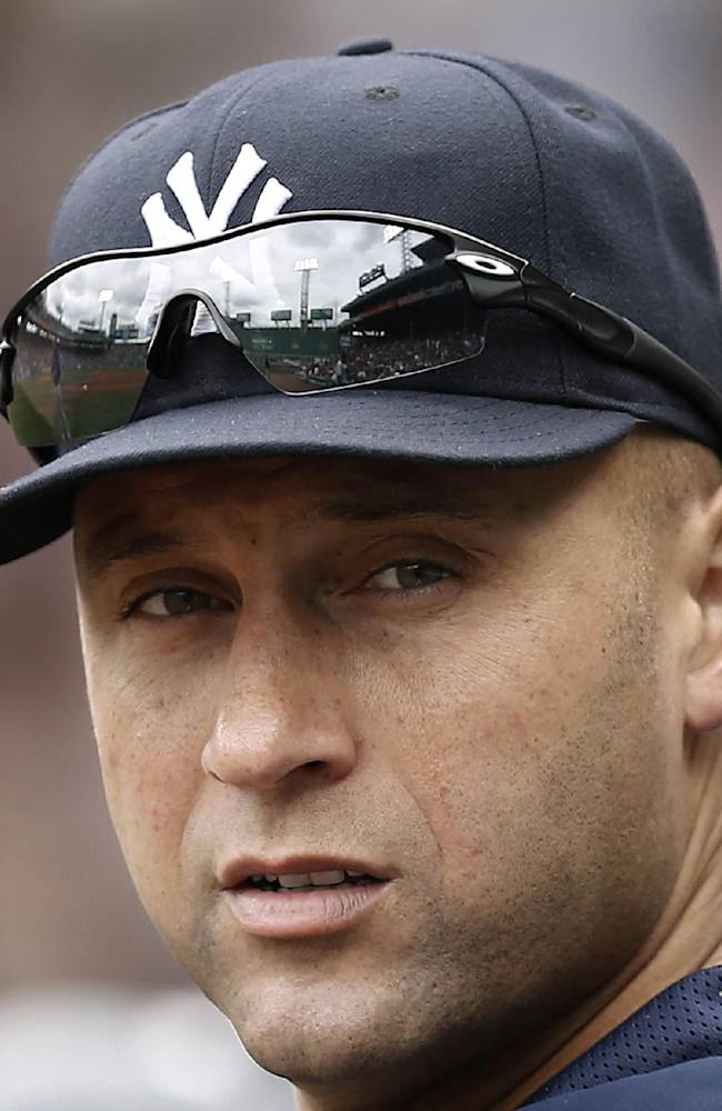 Jeter goes through 1st on-field workout of '14