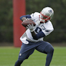 New England Patriots wide receiver Brandon LaFell catches a pass during practice Friday, Jan. 30, 2015, in Tempe, Ariz. The Patriots play the Seattle Seahawks in NFL football Super Bowl XLIX Sunday, Feb. 1 The Associated Press