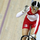 England's Jess Varnish waves after winning the bronze medal in the women's sprint finals cycling race at the 2014 Commonwealth Games in Glasgow, Scotland, July 27, 2014.          REUTERS/Andrew Winning