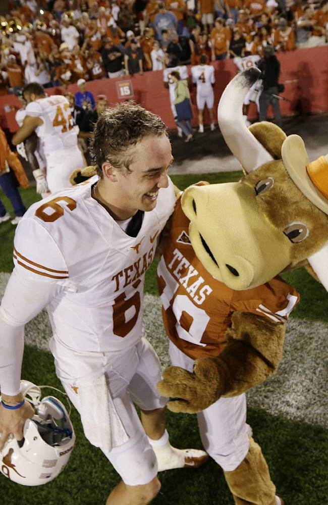 McCoy's swagger belies career as Texas backup