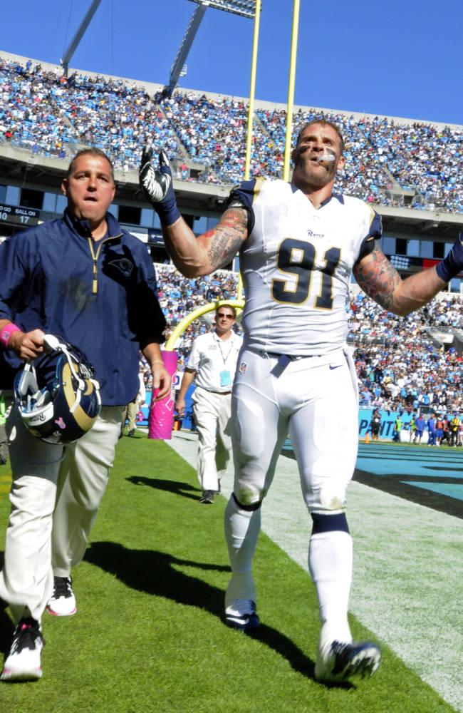 Rams-Panthers draws $47,250 in fines from NFL