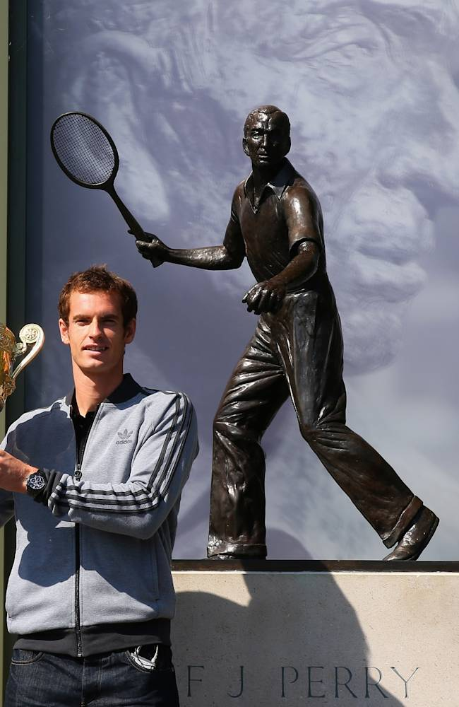 Wimbledon Winner Andy Murray Photocall