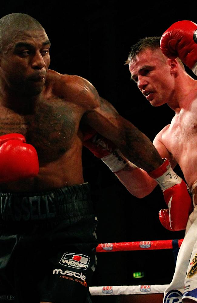 Boxing at Liverpool Olympia