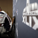 New England Patriots tight end Rob Gronkowski listens to a question during a news conference Thursday, Jan. 29, 2015, in Chandler, Ariz. The Patriots play the Seattle Seahawks in NFL football Super Bowl XLIX Sunday, Feb. 1 The Associated Press