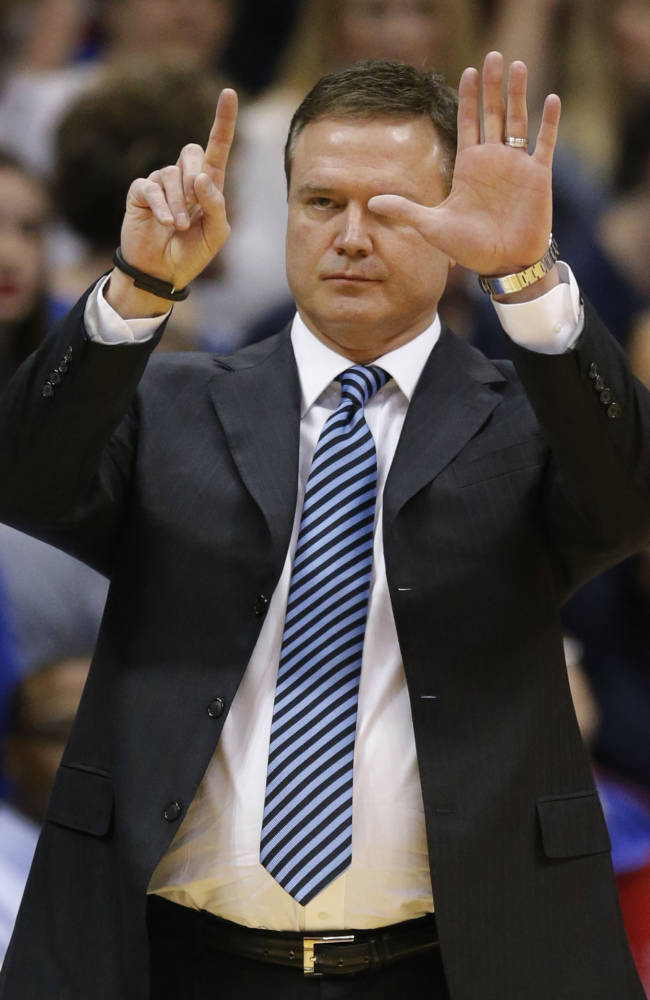 KU coach Bill Self thinks Wichita St is No. 1 seed