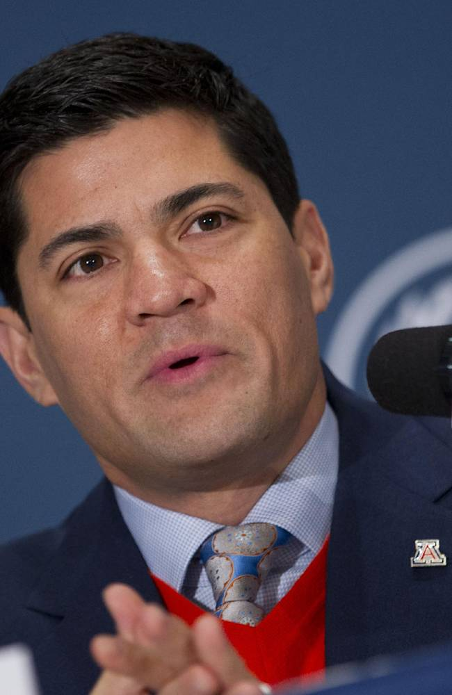 College Football Hall of Fame inductee Tedy Bruschi, a defensive back from Arizona, speaks during the 56th National Football Foundation Annual Awards ceremonies on Tuesday, Dec. 10, 2013 in New York