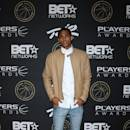LAS VEGAS, NV - JULY 19:  NBA player Jordan Clarkson of the Los Angeles Lakers attends The Players' Awards presented by BET at the Rio Hotel & Casino on July 19, 2015 in Las Vegas, Nevada.  (Photo by Gabe Ginsberg/Getty Images for BET)