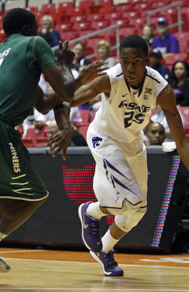 Charlotte hangs on to down Kansas State 68-61