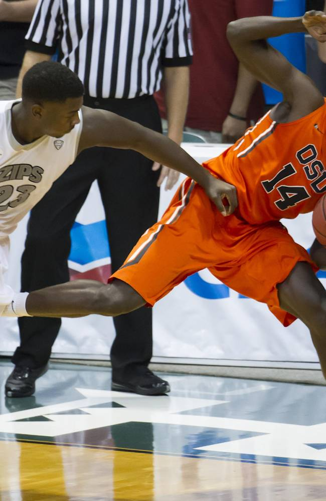 Treadwell, Akron turn back Oregon St. 83-71