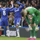 Chelsea draws with Southampton; Rooney knocks out Tottenham