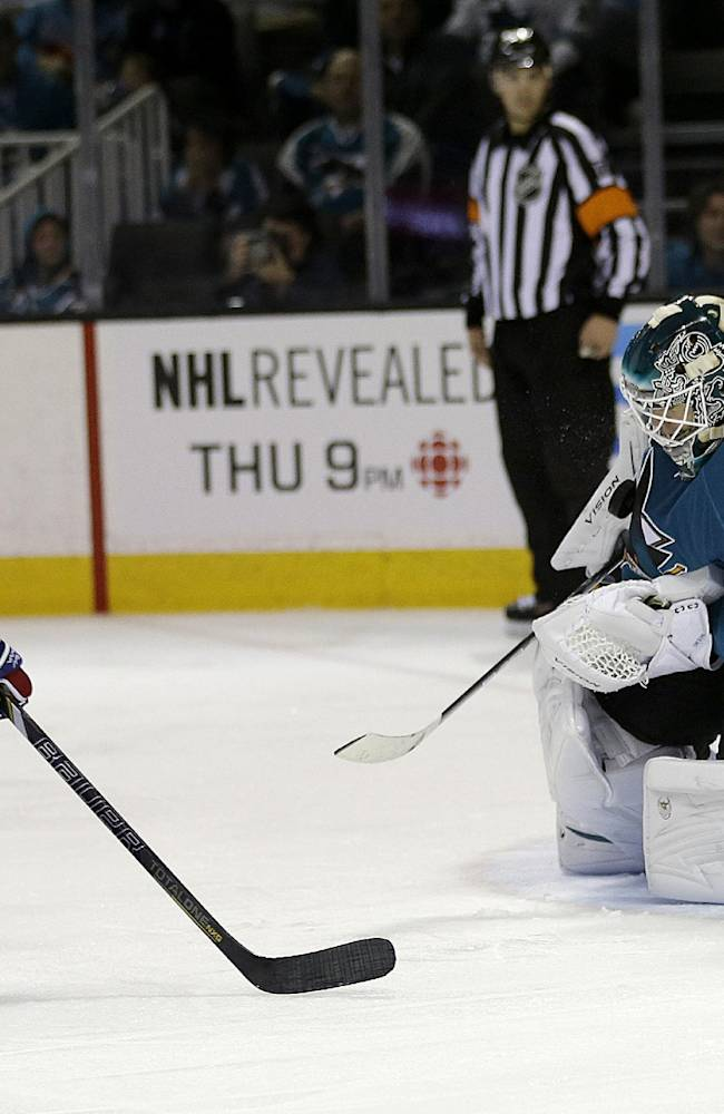 Niemi, Sharks beat Canadiens 4-0