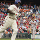 Howard homers, Phillies end 9-game losing skid, beat Orioles The Associated Press