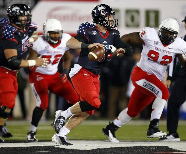 Lynch leads No. 20 N. Illinois past Ball State