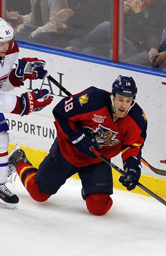 Panthers roll to 4-1 win over Canadiens