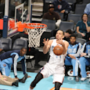 CHARLOTTE, NC - DECEMBER 11: Jeffery Taylor #44 of the Charlotte Bobcats tries to get control of the ball against the Orlando Magic during the game at the Time Warner Cable Arena on December 11, 2013 in Charlotte, North Carolina. (Photo by Kent Smith/NBAE via Getty Images)