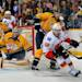Calgary Flames v Nashville Predators