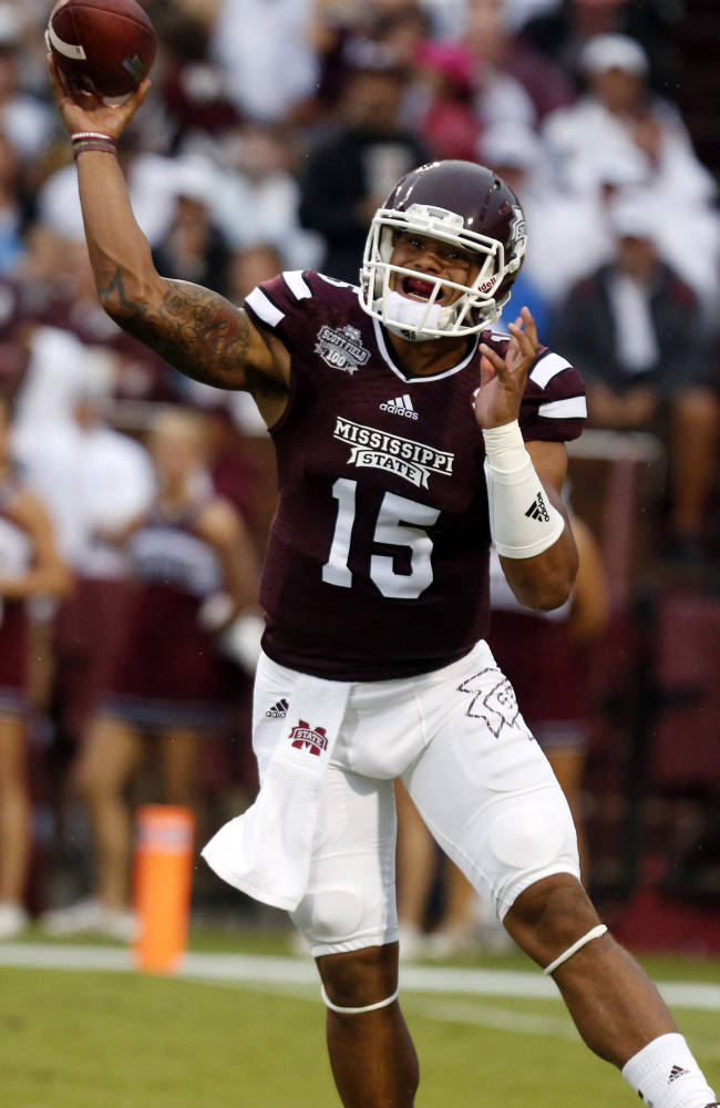 Mississippi St beats Southern Miss 49-0