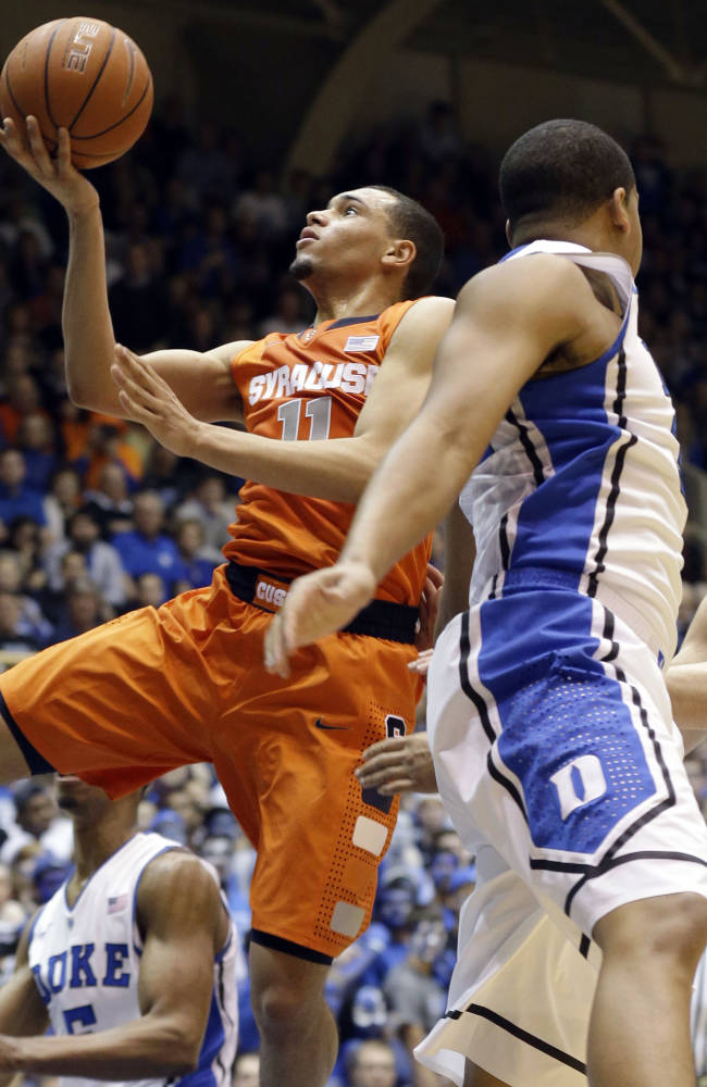 Swofford: Ref made 'judgment call' in SU-Duke game