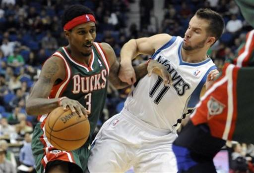 Bucks Timberwolves Basketball