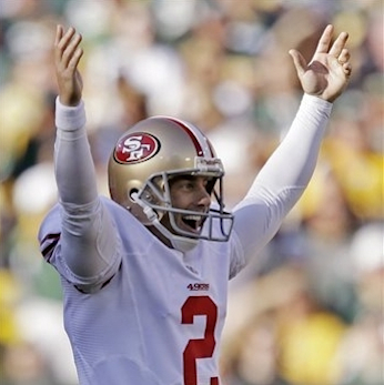 Akers tied an NFL record with